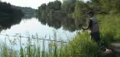 Рыбачьте с нами. На Москве - реке в Горках - 10.