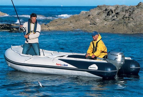 Мотор для надувной резиновой лодки